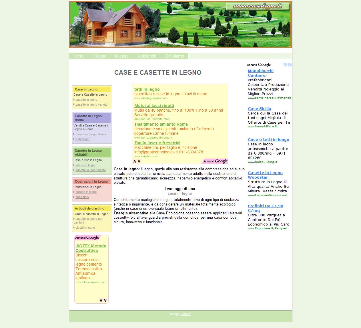 Il dominio www.case-legno.it è in vendita!